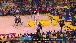 GS Warriors vs Portland Trail Blazers   Full Game Highlights   Game 1   April 16   NBA Playoffs