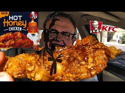 KFC ☆HOT HONEY CHICKEN☆ Food Review!!!