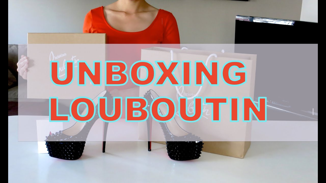 30982d2819a Unboxing and Review Christian Louboutin Spikes Studs Daffodile Shoes