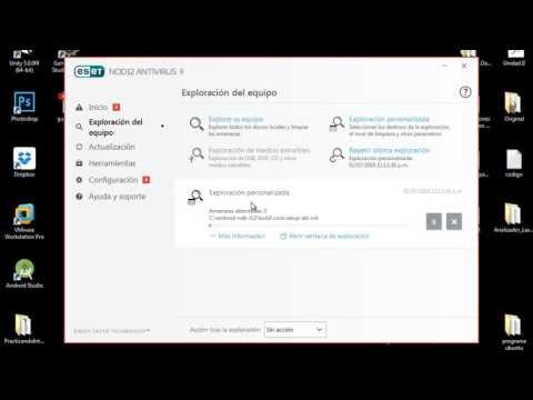 Examina y Elimina todos los virus de tu Computadora con  ESET NOD32