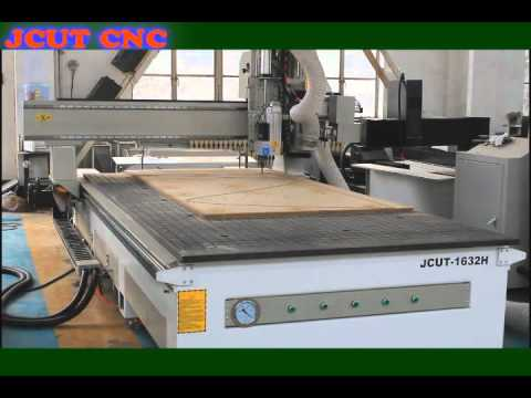 JCUT-1632H circular ATC CNC ROUTER with drilling