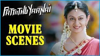 Pattathu Yaanai - Tamil Movie - Santhanam Comedy Scene 2 | Vishal | Santhanam | Thaman