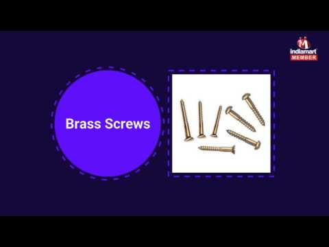 Brass Parts And Fasteners by K. N. Metal Products, Jamnagar