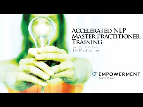 What are Values? NLP Master Practitioner Certification® Training