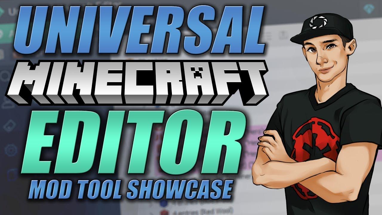 NEW Universal Minecraft Editor Showcase! - YouTube
