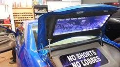 Car Tunes League City - Custom trunk build