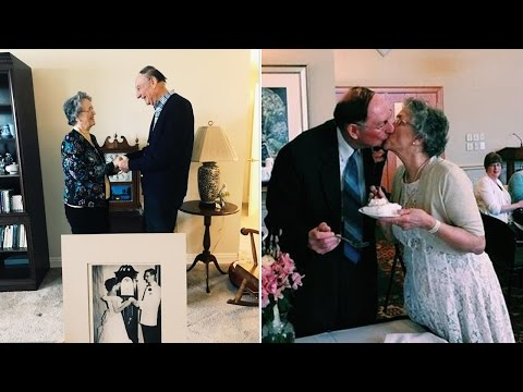 81-Year-Old High School Sweethearts Wed 64 Years After Losing Touch