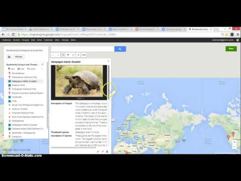 COETAIL Course 5 Final Project - Biodiversity  Online