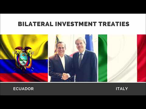Video - Talk Show : BILATERAL INVESTMENT TREATIES