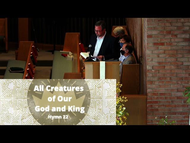 Sunday May 2nd Worship Service @ First Christian Richmond
