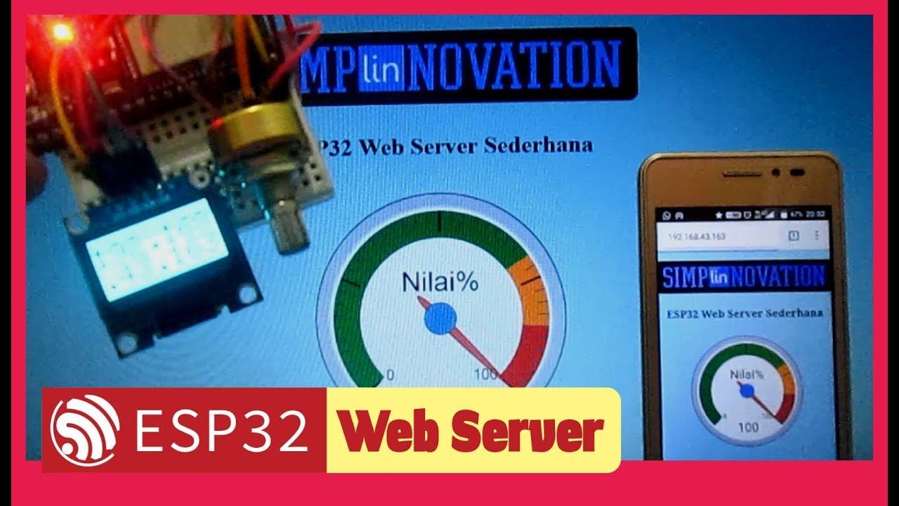 147 ESP32 Web Server | simpLINnovation