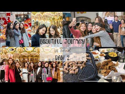 Đi Lotte World ở Seoul ✿ Korean BBQ ✿ CHARIS Beautiful Journey in Seoul DAY 2 | mattalehang
