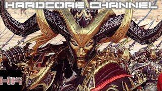Total War Warhammer 2 - прохождение Hardcore Темные эльфы =1= Темная сторона силы