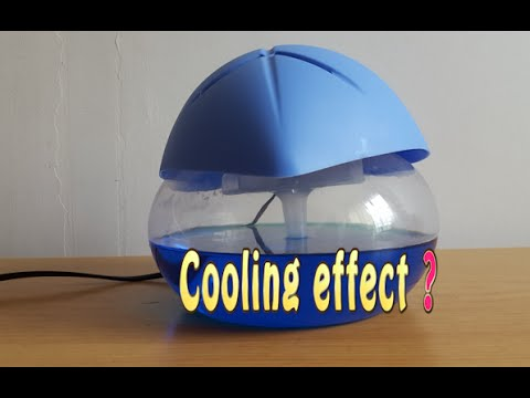Does Water Air Purifier (Revitalizer) create a cooling effect?