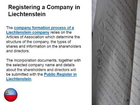 Company Law in Liechtenstein
