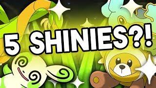 I CAUGHT 5 SHINIES in the New Safari Zone!   Roblox Pokemon Brick Bronze