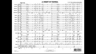 A Night In Tunisia arranged by Michael Philip Mossman