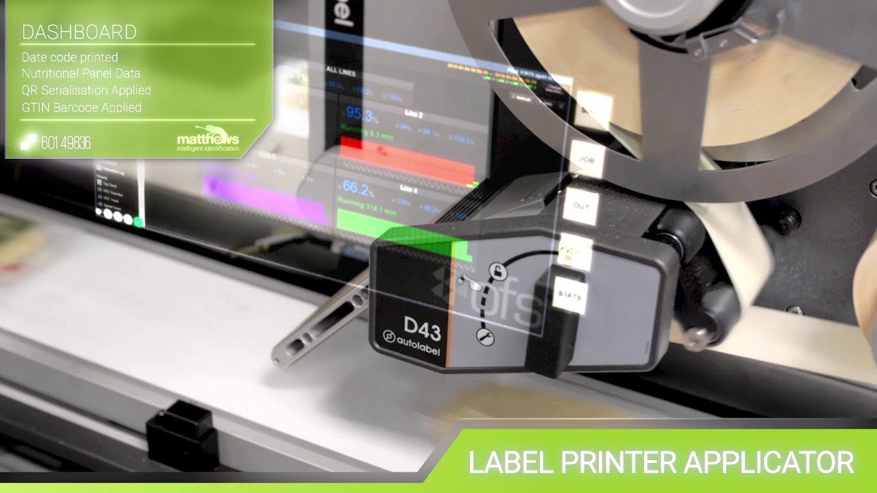 Batch Printer, Best Before Date Printer, Printing on Cans