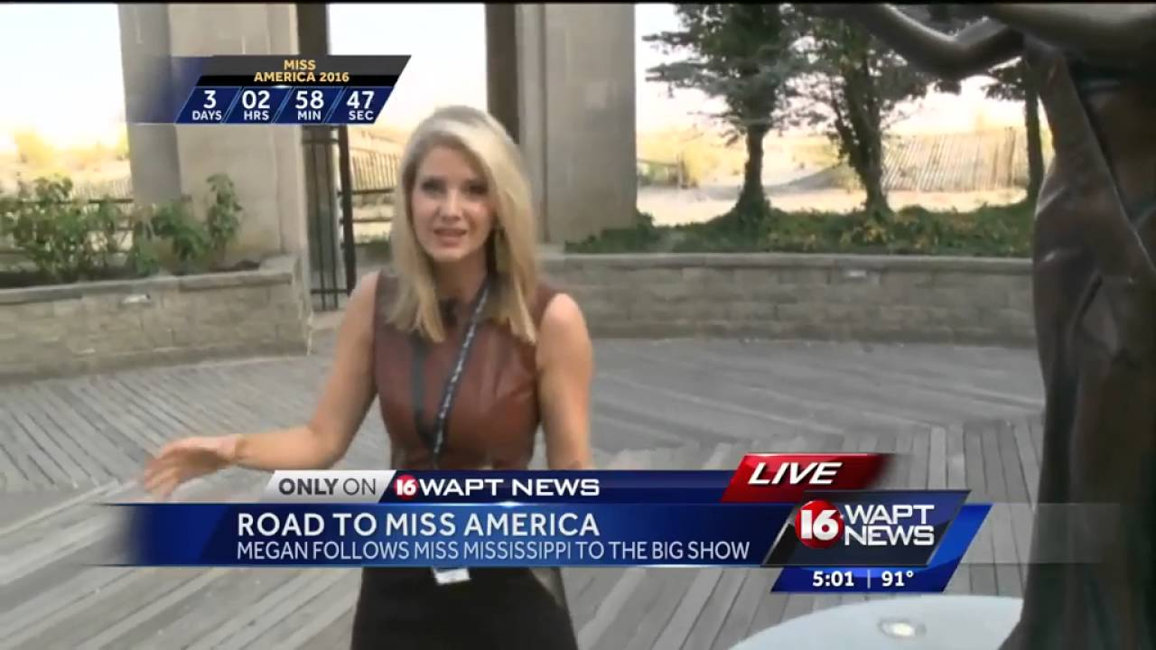 Megan West reports live from Miss America
