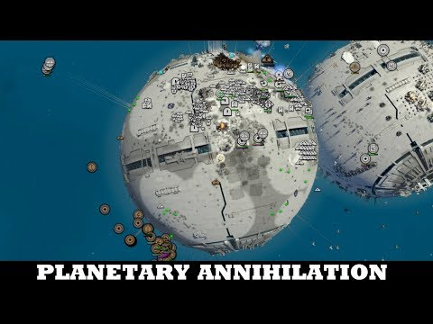 That ending couldn't be better - Planetary Annihilation Titans