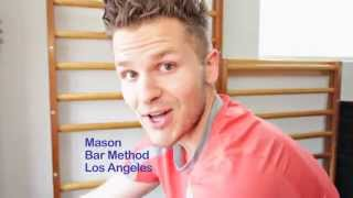 West Hollywood Barre Fitness Teacher Mason Glenn on Bar Method