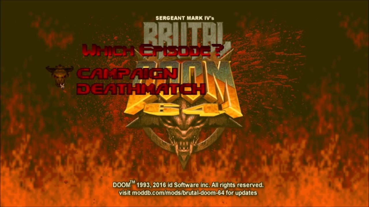 Brutal Doom 64 mod - Mod DB