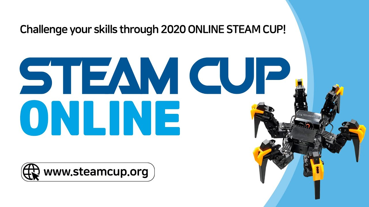 [Stay Home with Your Robot] Introducing 2020 STEAM CUP ONLINE