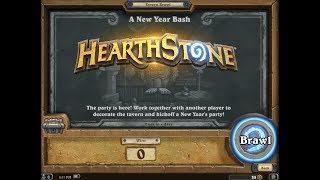 Hearthstone #5 Co-op Tavern Brawl (A New Year Bash) gameplay walkthrough