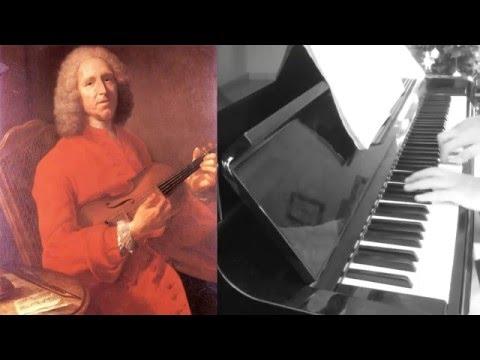Rameau - Gigue en Rondeau (Suite en Mi des Pièces de Clavecin - 1724) - Piano