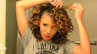 How to Get Perfect Bantu Knot Out Results on Dry Natural Hair | Alyssa Forever