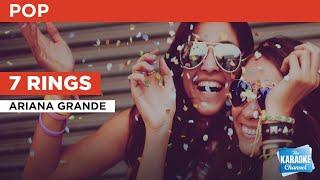 7 Rings : Ariana Grande   Karaoke with Lyrics