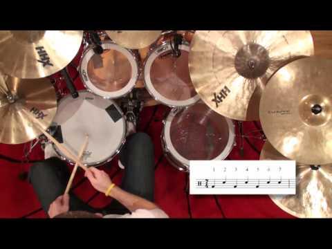 Rock Drumming In 7/4 Time - Icanplaydrums.com