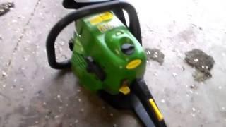 John Deere CS46 chainsaw updated
