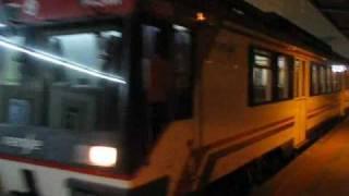 Regional express 12600 saliendo de Ponferrada destino Leon