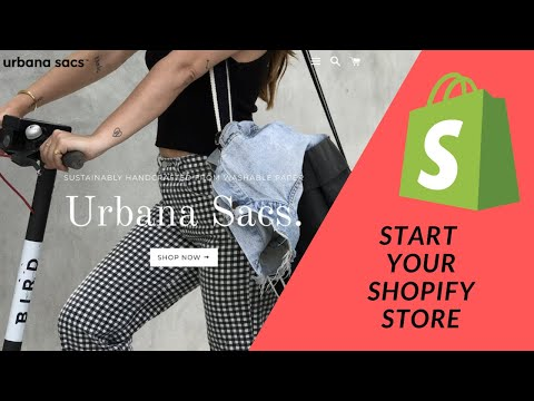 Shopify Tutorial:  How To Start a Profitable eCommerce Store from Scratch Pt 1:  Starting your store