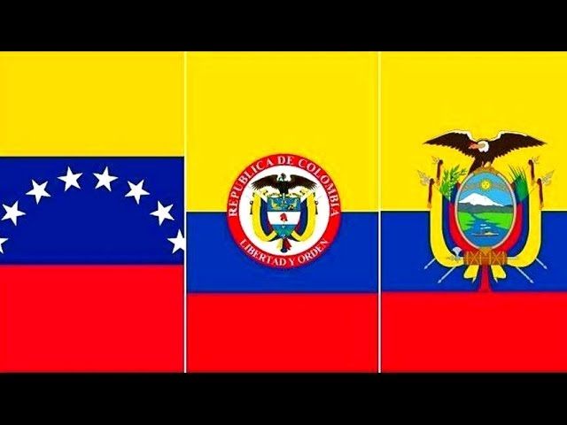 Por Qué Las Banderas De Colombia Venezuela Y Ecuador Son Tan Parecidas