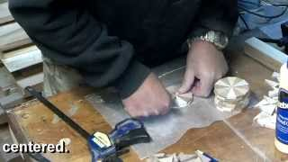 #53 Woodturning A Segmented Christmas Ornament Part 1 Of 2