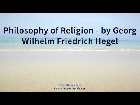 Philosophy of Religion   by Georg Wilhelm Friedrich Hegel
