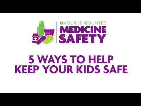 Over-the-Counter Medicine Safety: 5 Ways to Help Keep Your Kids Safe