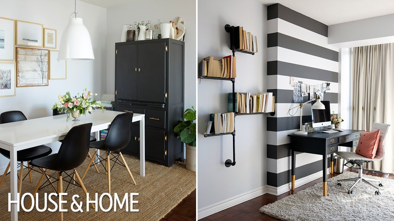 Think you can't use bright color because your room is small? Interior Design – How To Decorate A Rental Apartment - YouTube
