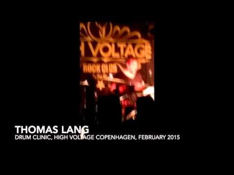 Thomas Lang - Drum clinic Copenhagen