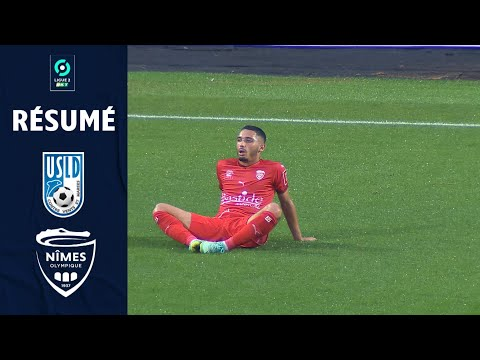 Dunkerque Nimes Goals And Highlights