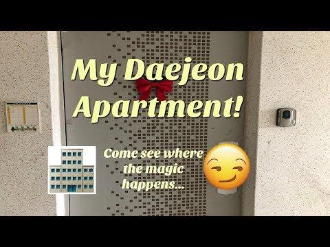 My Korean Apartment Tour: Daejeon Edition