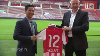 Official Partnership of PSV & WELLBET