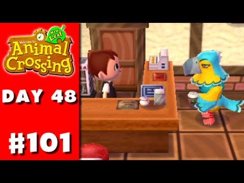 Animal Crossing: New Leaf - Part 101 - Coffee for Keaton (Nintendo 3DS Gameplay Walkthrough Day 48)