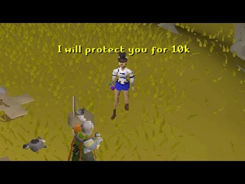 Selling Wildy Protection Service on Runescape [TYC 91]