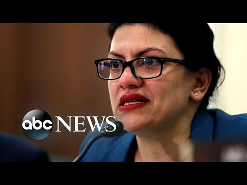 Rep Tlaib speaks out after cancelling her trip to Israel  ABC News