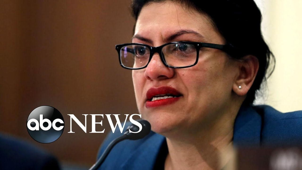 ABC News:Rep. Tlaib speaks out after cancelling her trip to Israel