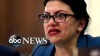 Rep. Tlaib speaks out after cancelling her trip to Israel | ABC News