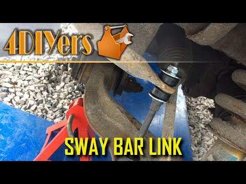 DIY: Dodge Ram Front Sway Bar Link Replacement